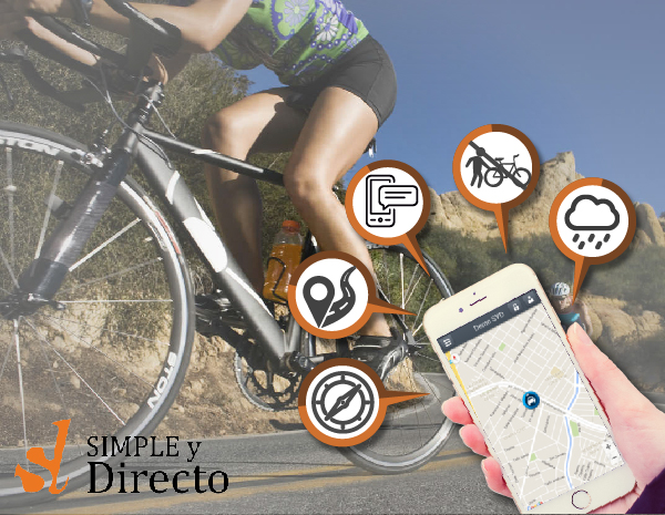 Localizador GPS para bicicletas