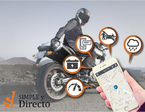 Localizador GPS para motos