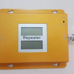 Amplificador de doble banda con doble pantalla LCD