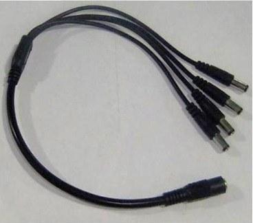 divisor de energía tipo pulpo de 4 canales