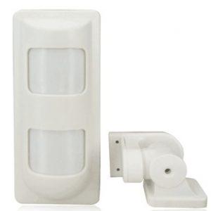 Sensor Infrarrojo para exteriores con bateria recargable