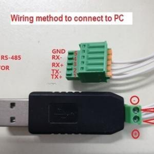 Conectividad directa a PC vía USB