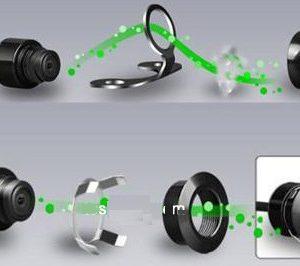 soporte de cámara con 2 modos de instalación